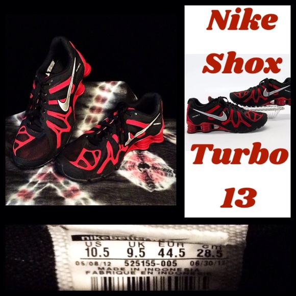 9434ab4f15f Men s Nike Shox Turbo 13 SZ 10.5 NEW! (No box). M 5bb90855f63eea85c4dc5f83